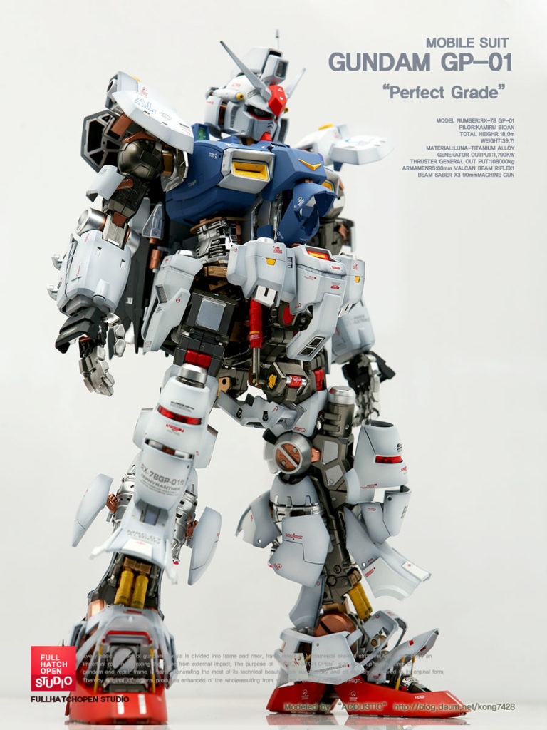 GP-01 GUNDAM Full Hatch Open