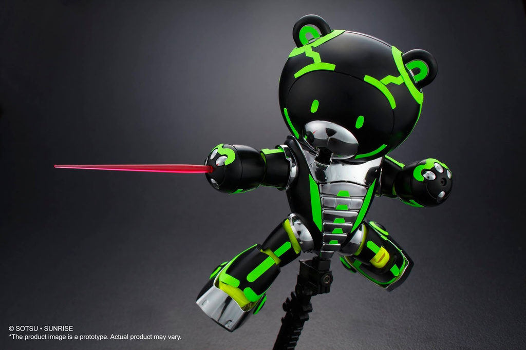 HGBF 1/144 NEON BEARGGUY 3000: Many Big Size Official Images, Info Release