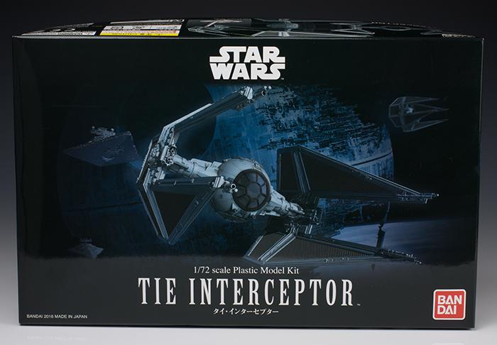 Bandai x Star Wars 1/72 TIE INTERCEPTOR