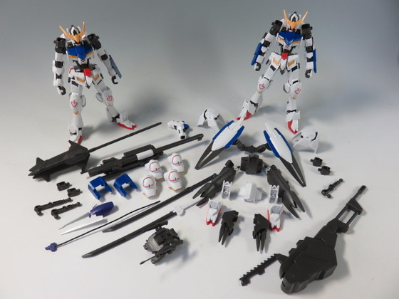 HGIBO 1/144 GUNDAM BARBATOS COMPLETE SET
