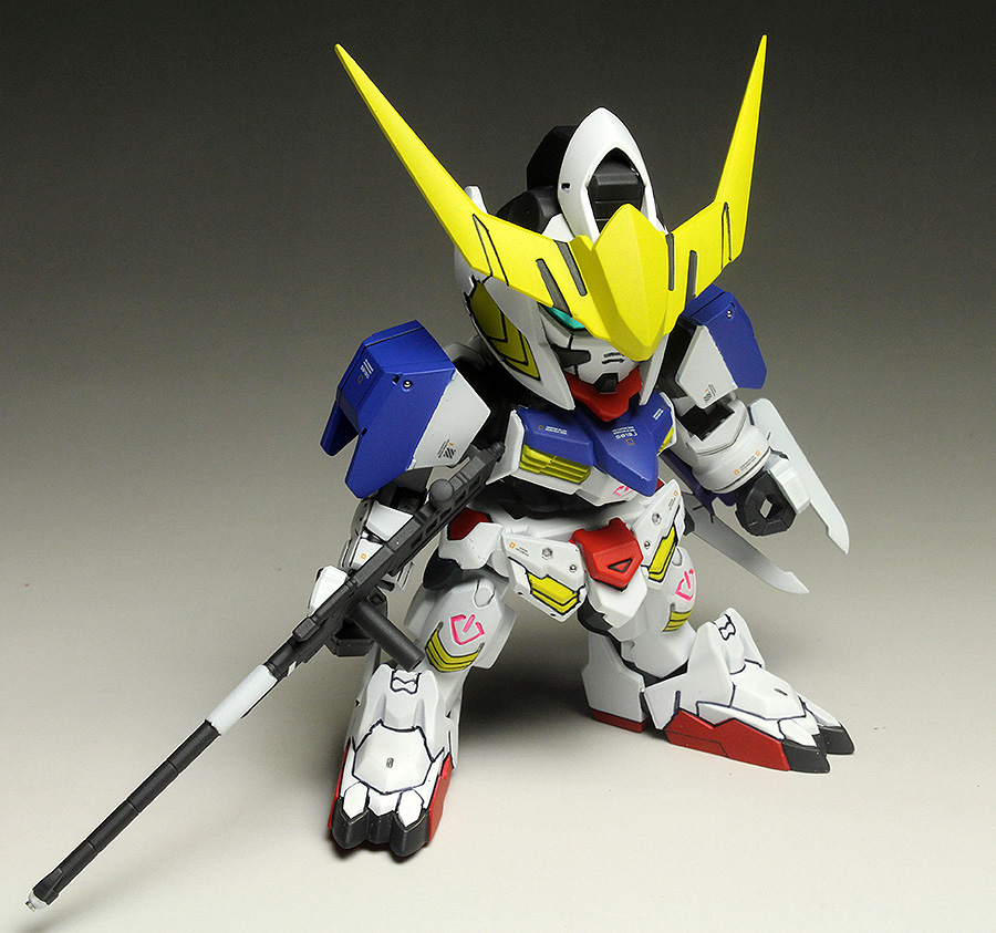 [WORK] BB senshi No.401 ASW-G-08 GUNDAM BARBATOS DX