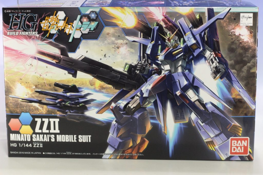 HGBF 1/144 ZZ III: BOX OPEN REVIEW