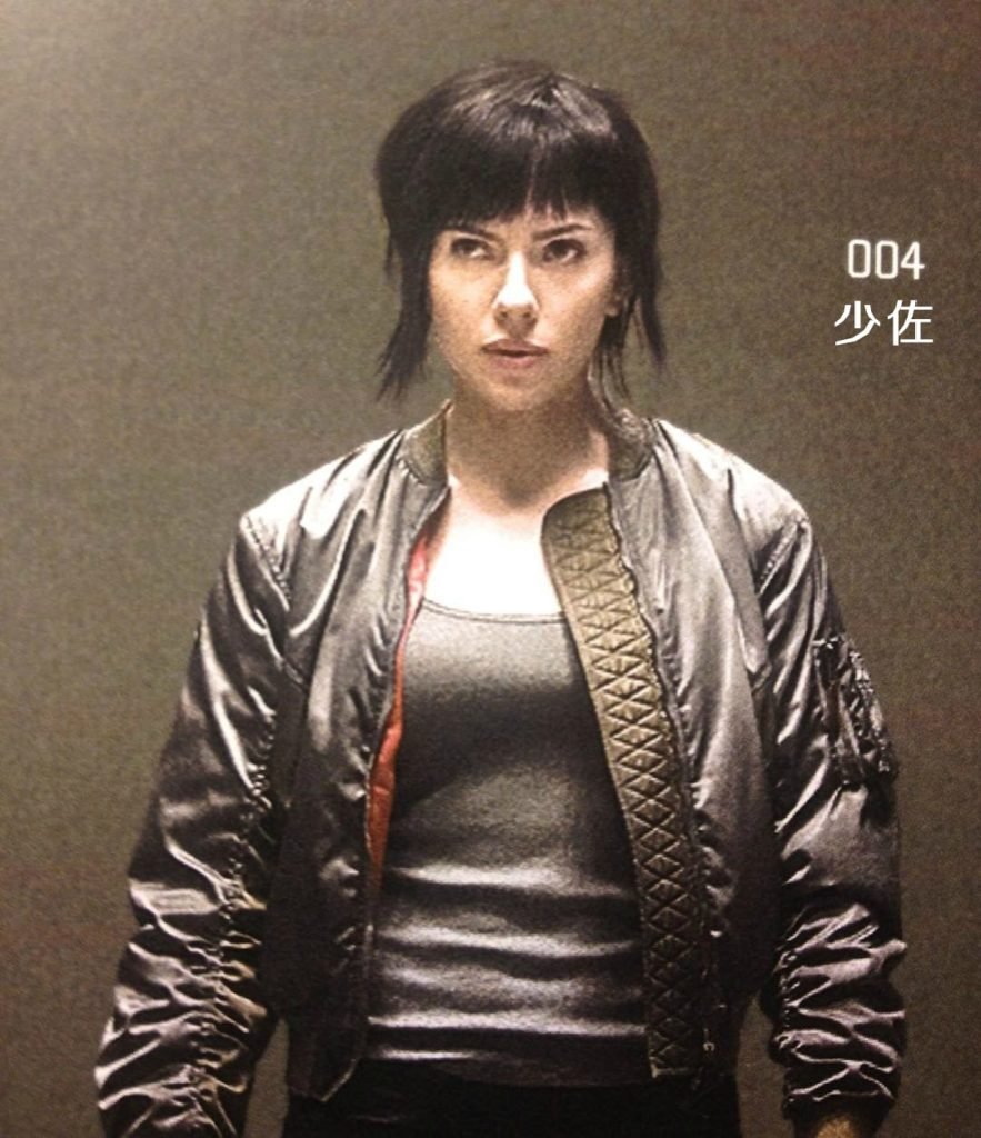 Ghost in the Shell: Scarlett Johansson and other Characters