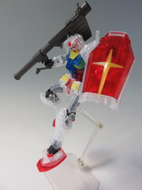 Bandai Gunpla Expo Japan RG 1//144 RX-78-2 Gundam Mechanical Clear Color Version