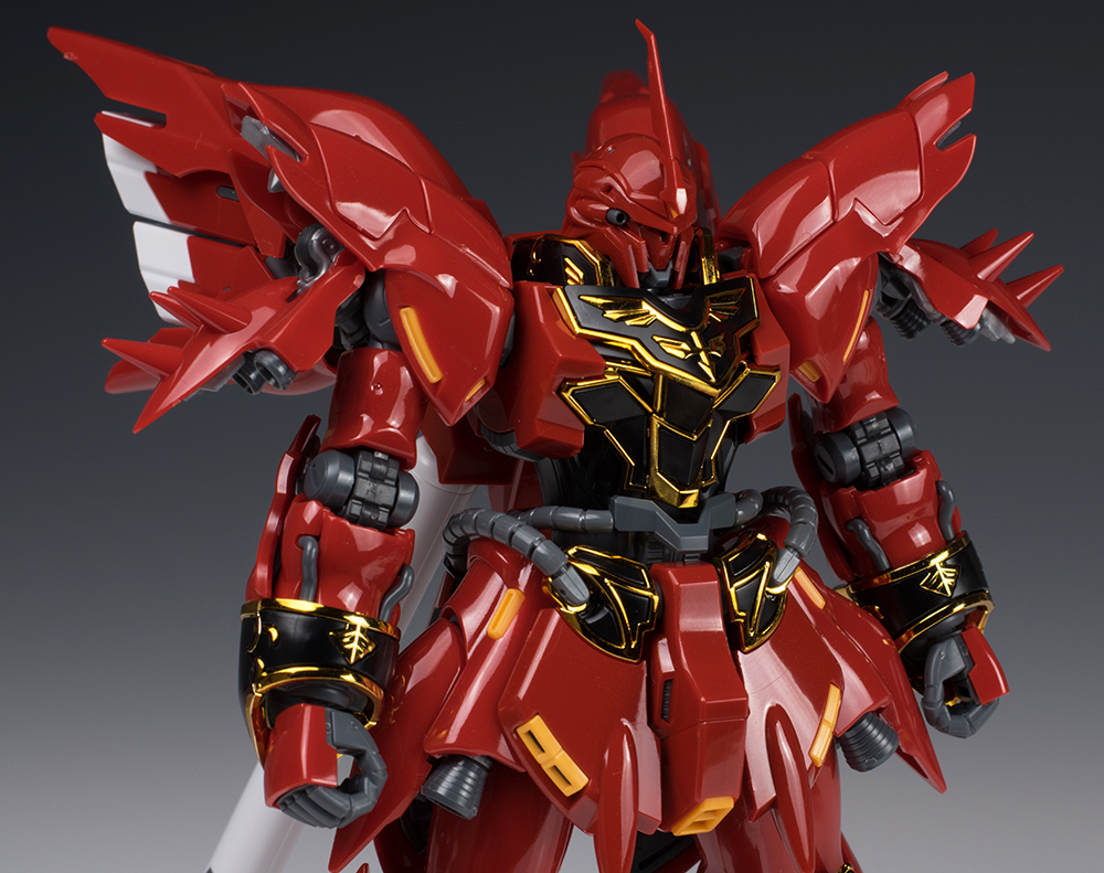 Full Detailed Review Rg 1 144 Sinanju A Lot Of Big Size