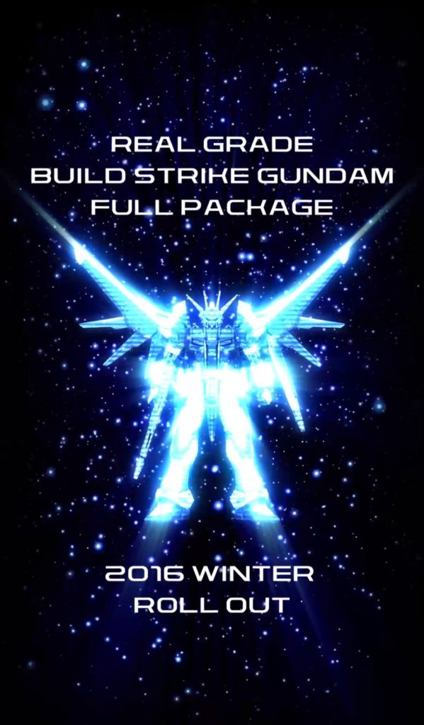 RG 1/144 BUILD STRIKE GUNDAM FULL PACKAGE