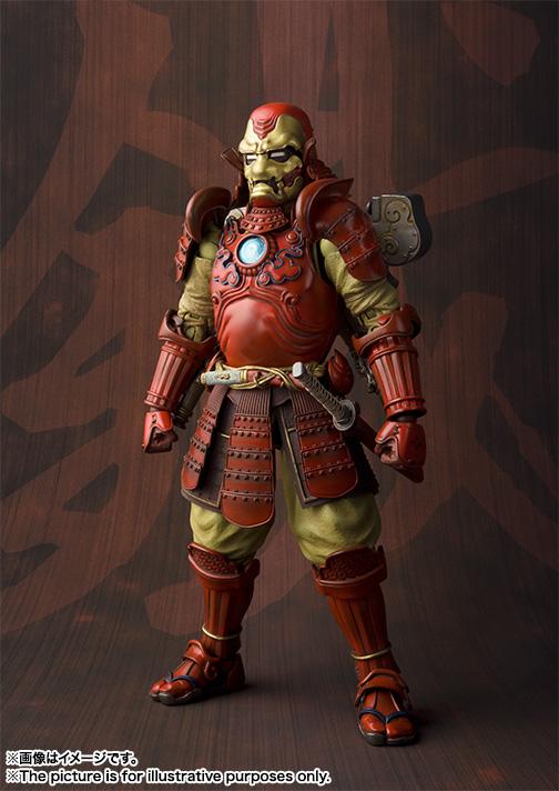 Meishō MANGA REALIZATION kōtetsu samurai IRON MAN Mark3