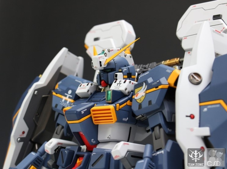 G-System 1/72 scale RX-121 GUNDAM TR-1 [HAZEL]. FULL REVIEW!
