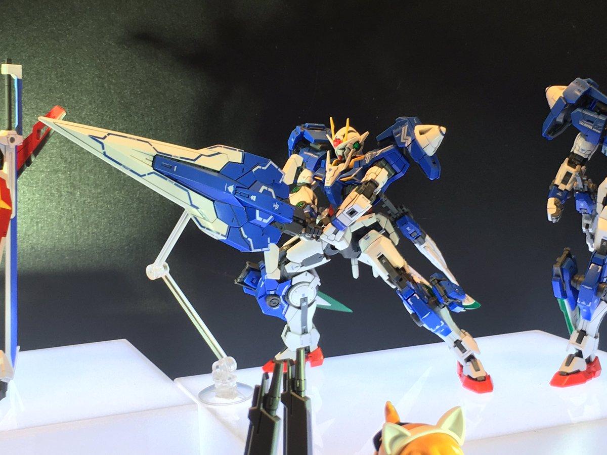 Rg 1 144 00 Gundam Seven Sword On Display 56th All Japan