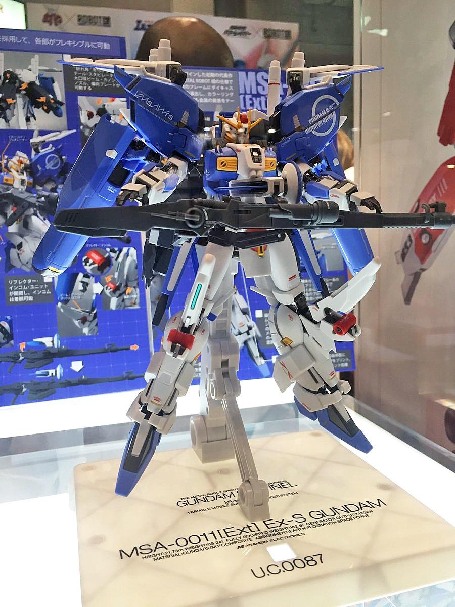 METAL ROBOT魂 (Ka signature) MSA-0011[Ext] Ex-s GUNDAM on display @ 56th All Japan Model Hobby ...