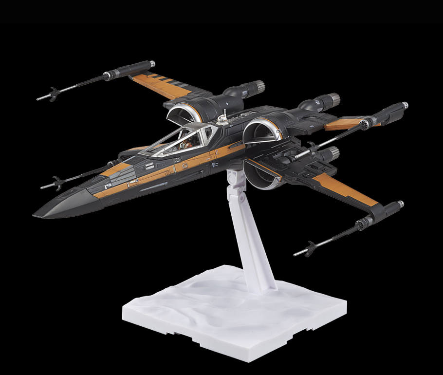 Bandai x Star Wars The Force Awakens 1/72 POE's X-WING FIGHTER