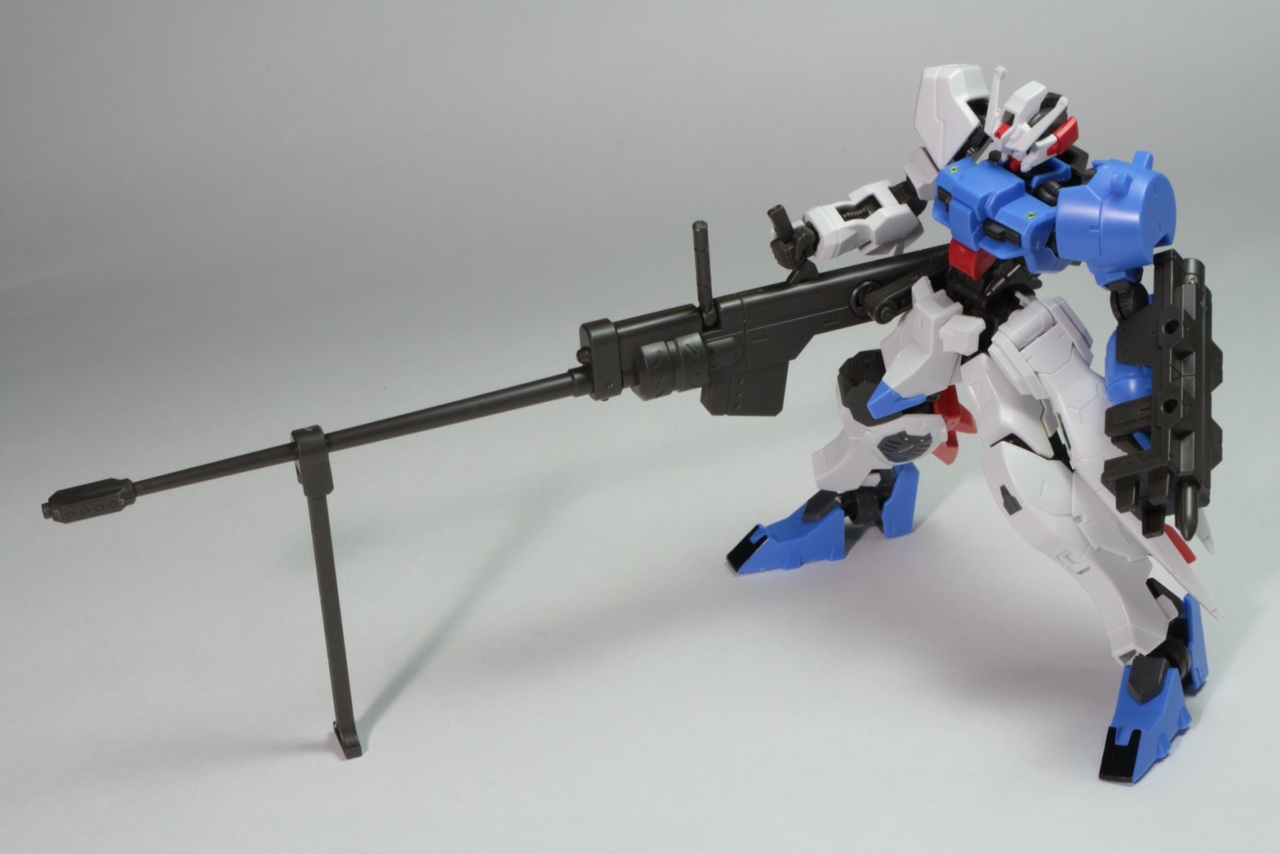 Anti Materiel Rifle full detailed review] hg ibo 1/144 210mm anti materiel rifle