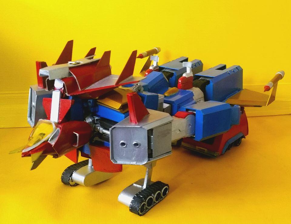 AMAZING FULL CUSTOM VOLTES V from MegaSize Rx-78 Gundam