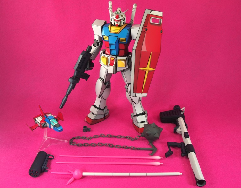 GUNDAM Ver.2.0 Painted in ANIME STYLE
