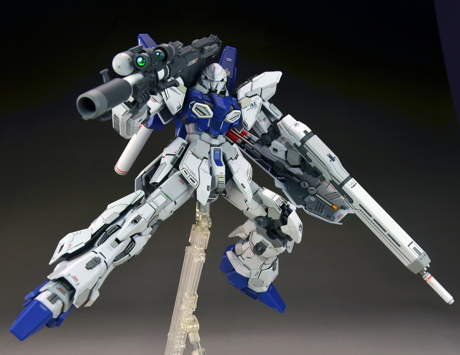 pjj8327's Latest IMPROVED WORK: MG 1/100 SINANJU STEIN Ver ...
