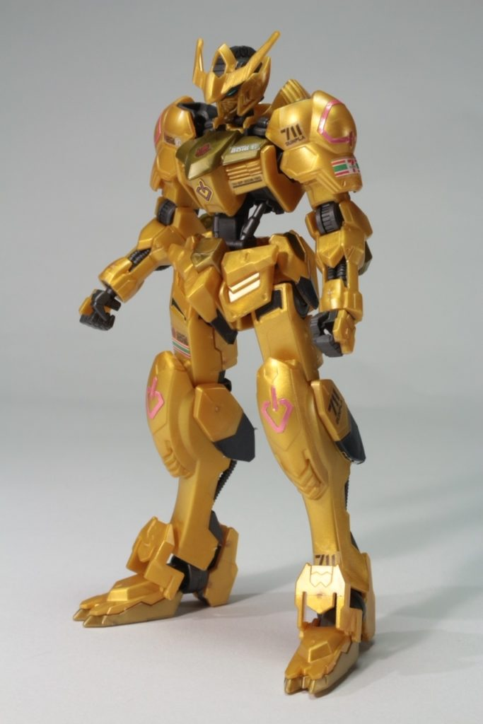 [FULL DETAILED REVIEW] SEVEN ELEVEN HG IBO 1/144 GUNDAM BARBATOS GOLD INJECTION COLOR