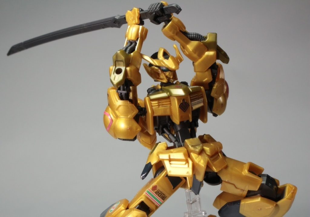 HG IBO 1/144 GUNDAM BARBATOS GOLD INJECTION