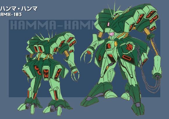 RE/100 AMX-103 HAMMA-HAMMA