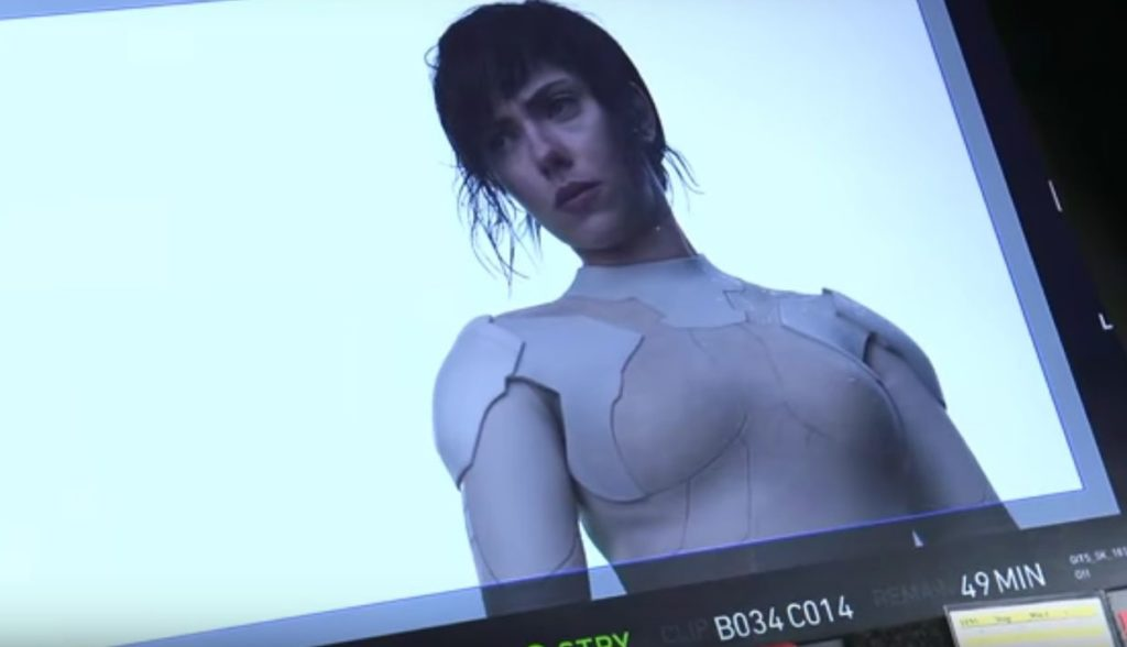 Ghost in The Shell (攻殻機動隊) SCARLETT JOHANSSON