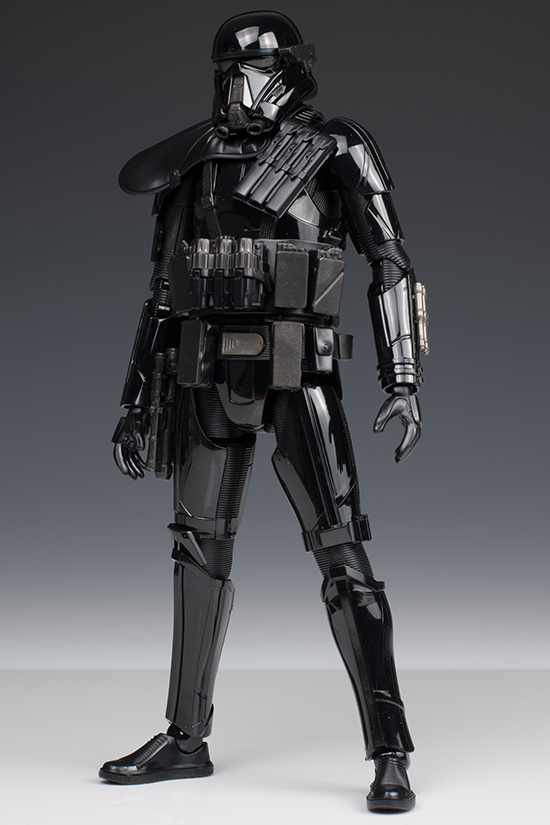 Wing Gold >> [FULL DETAILED REVIEW] Bandai x Star Wars ROGUE ONE 1/12 DEATH TROOPER: No.47 Big Size Images ...