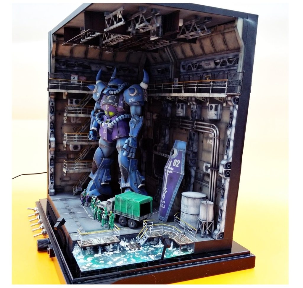 MG GOUF Ver.2.0 + RAMBA RAL CORPS + Sound Effects + LEDs
