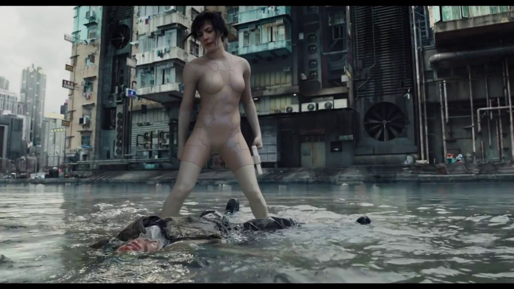 SCARLETT JOHANSSON's GHOST IN THE SHELL THE MOVIE