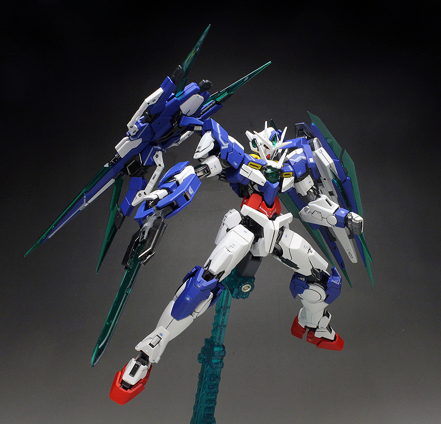 [WORK REVIEW] P-Bandai RG 1/144 GNT-0000/FS 00 QAN[T] FULL SABER: No.27 Big Size Images