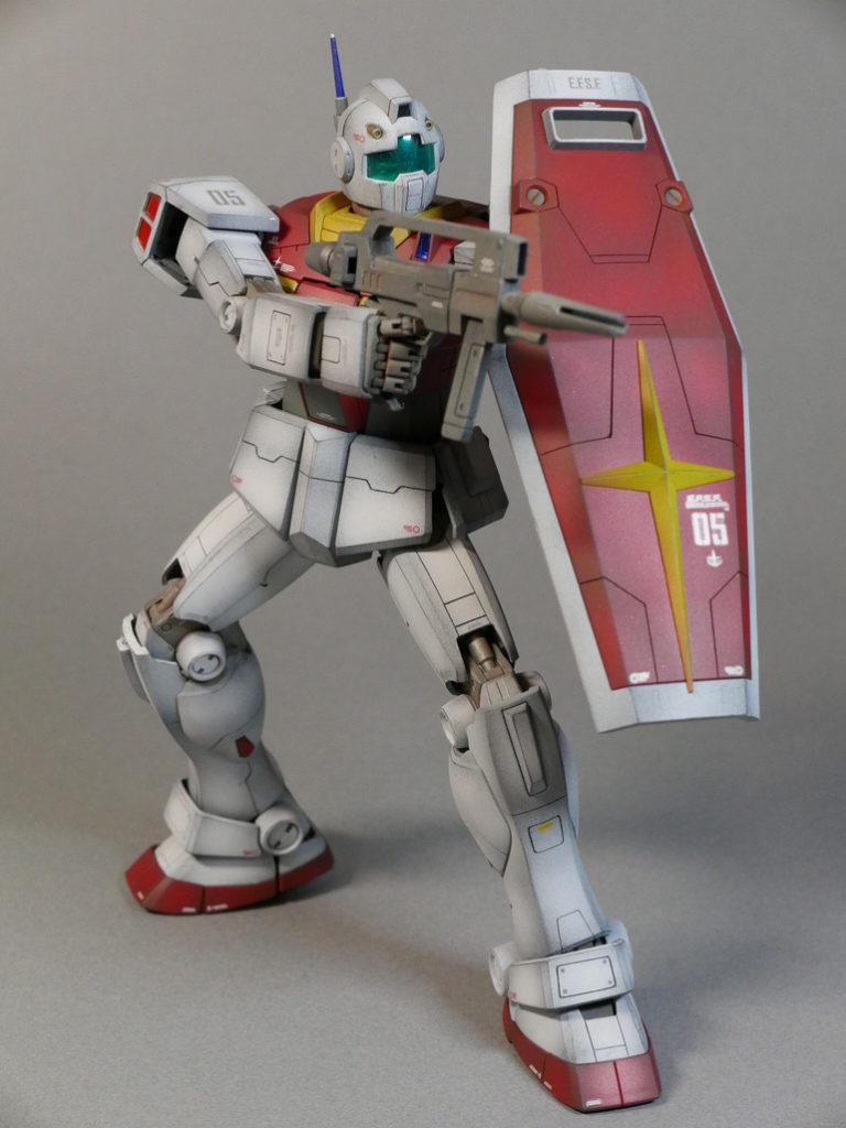 Beautiful Work by hashi: P-Bandai MG 1/100 RMS-179 GM II. REVIEW