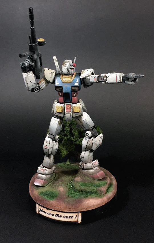 "Sirvalek aka Risiti Diego's DIORAMA: HGUC REVIVE 1/144 RX-78-2 Gundam ""You Are the Next!"" REVIEW"