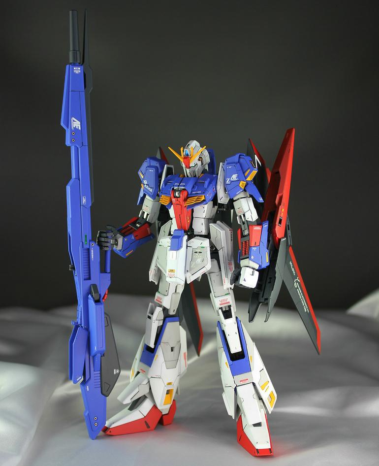 Kouichi's 水の星 MG Zeta Gundam Custom: REVIEW, Info