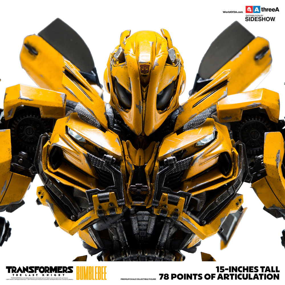 [TRANSFORMERS THE LAST KNIGHT] threeA 15inch BUMBLEBEE: No.7 Big Size Official Images, Info Release