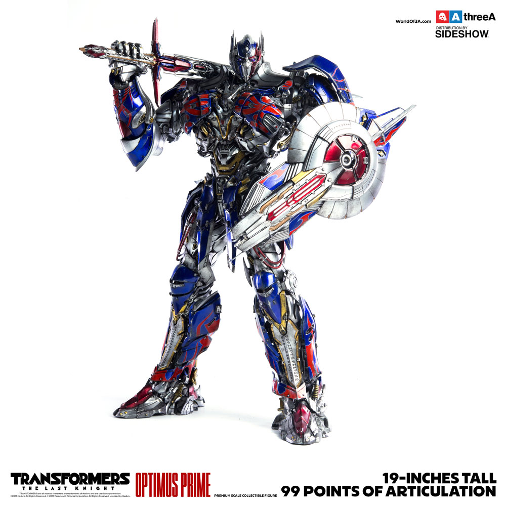 [TRANSFORMERS THE LAST KNIGHT] threeA 19inch OPTIMUS PRIME: No.13 Big Size Official Images, Info ...