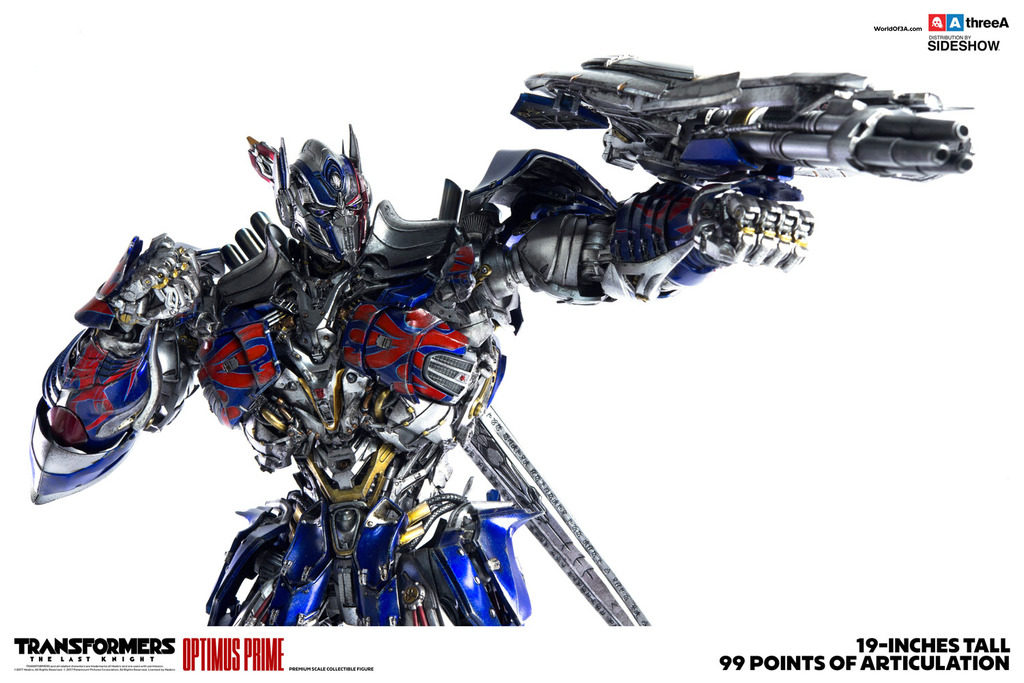 [TRANSFORMERS THE LAST KNIGHT] threeA 19inch OPTIMUS PRIME: No.13 Big Size Official Images, Info Release