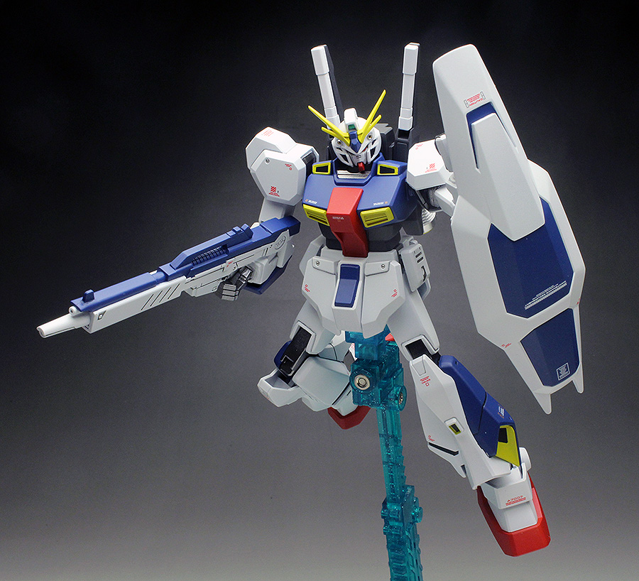 [WORK REVIEW] HGUC 1/144 Twilight AXIS RX-78AN-01 GUNDAM AN-01 TRISTAN: Big Size Images