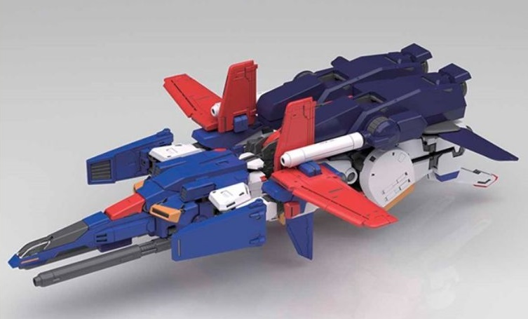 MG 1/100 ZZ GUNDAM Ver.Ka: Just Added New Official Images, on Display, info Release