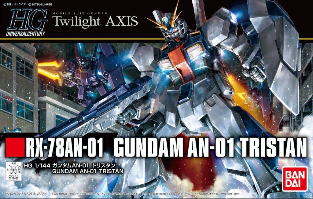 HGUC 1/144 Twilight AXIS RX-78AN-01 GUNDAM AN-01 TRISTAN: Box Art, Official Big Size Images, Info Release