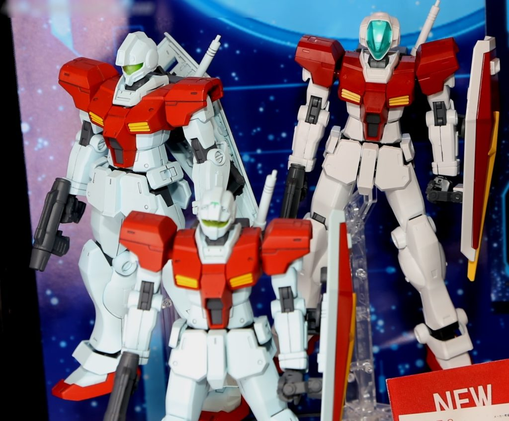 HGBF 1/144 GM/GM and HGBC GM/GM WEAPONS @ Shizuoka Hobby Show 2017 (Big Size Images, Info Releases)