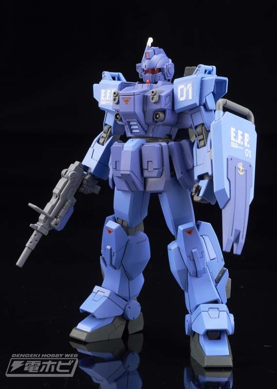 HGUC 1/144 BLUE DESTINY UNIT 1 EXAM: DENGEKI's New Official Images, Info Release