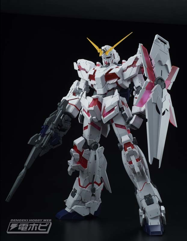 1/48 MEGA SIZE MODEL UNICORN GUNDAM (DESTROY MODE): Official Images, Info Release