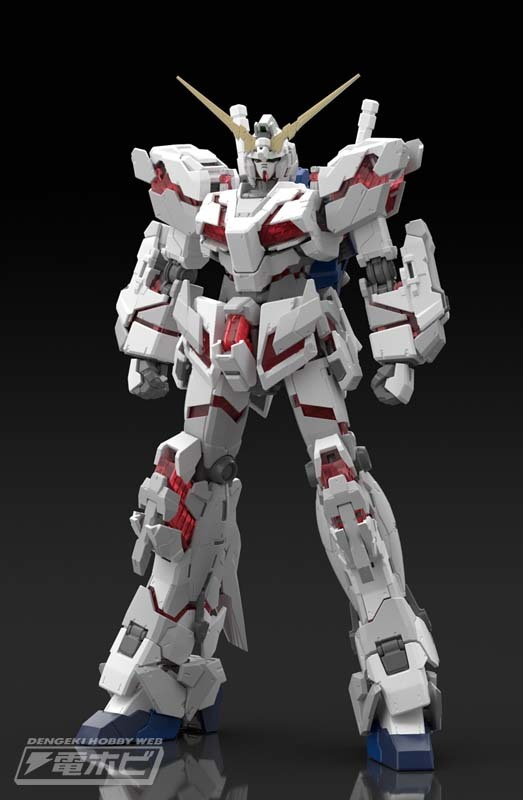 RG 1/144 RX-0 UNICORN GUNDAM: Official Images, Others on Display, Info Release