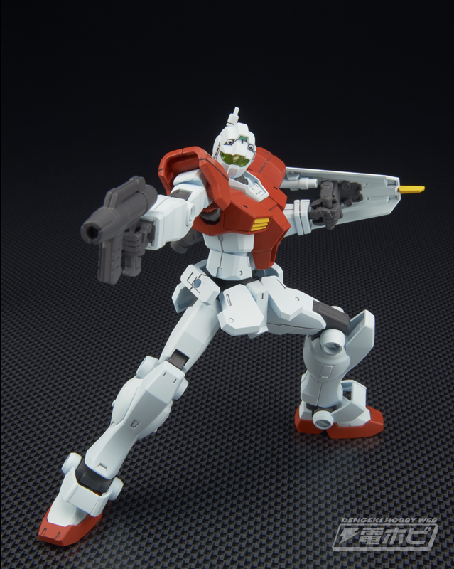 HGBF 1/144 GM/GM: DENGEKI's New Official Images, Info Release
