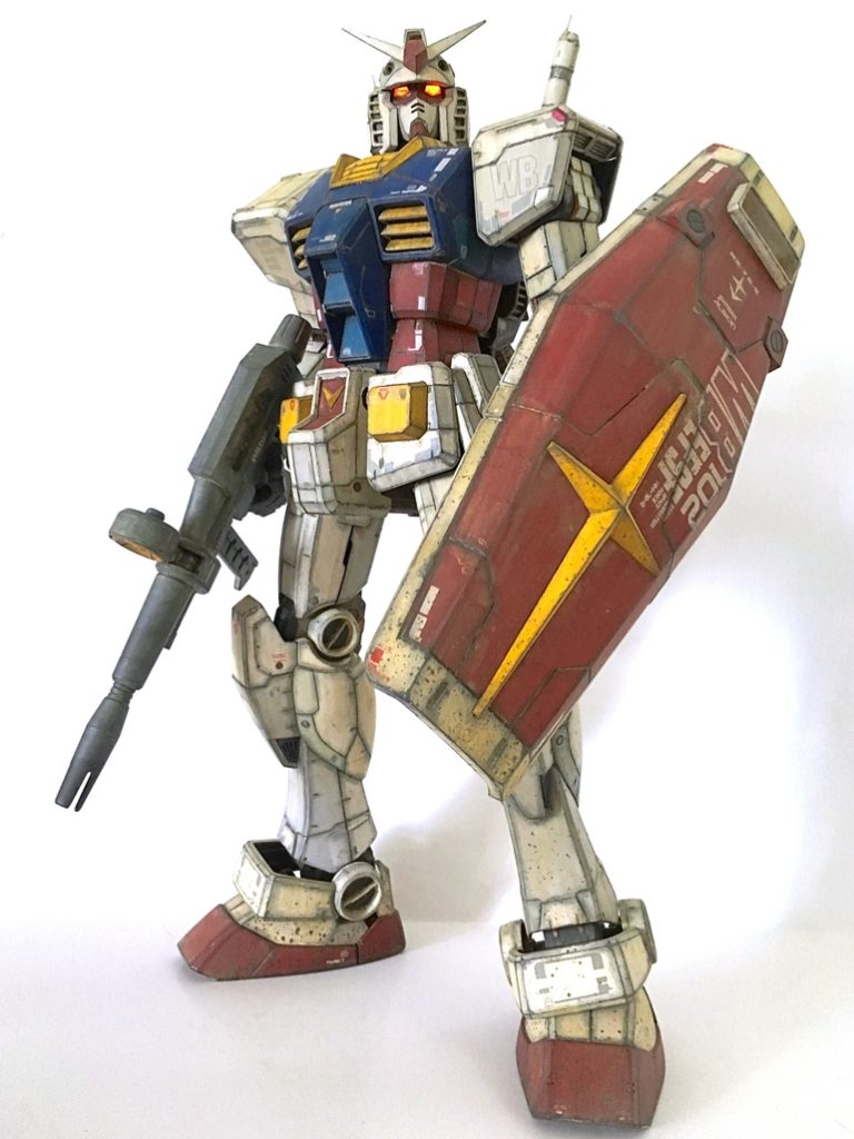 jukmann's AMAZING 1/48 MEGA SIZE MODEL GUNDAM Paint Job!!!