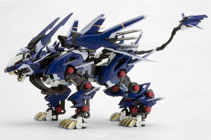 HMM ZOIDS 1/72 Highend Master Model RZ-041 LIGER ZERO JAGER: Many Official Images, Info Release