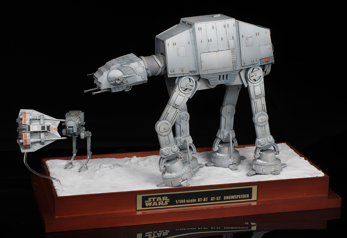 schizophonic9 u2019s work review  bandai x star wars diorama 1  144 scale  at