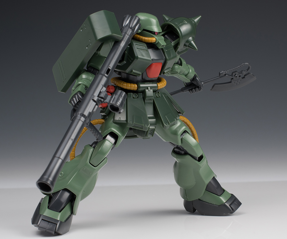 FULL DETAILED REVIEW: P-Bandai HGUC 1/144 MS-06F ZAKU II FZ TYPE-B (Unicorn Ver.)