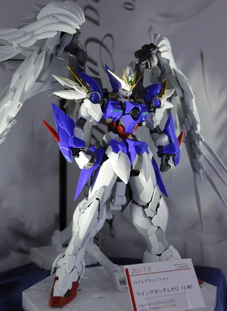 1/100 HIGH RESOLUTION MODEL WING GUNDAM ZERO EW: MANY Official CG images (Inner-Frame too), and On Display, Info Release