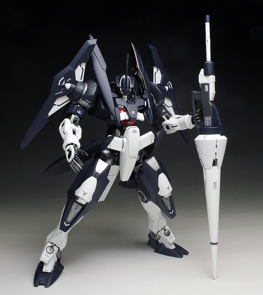 [WORK REVIEW] P-Bandai MG 1/100 GNX-604T ADVANCED GN-X painted build