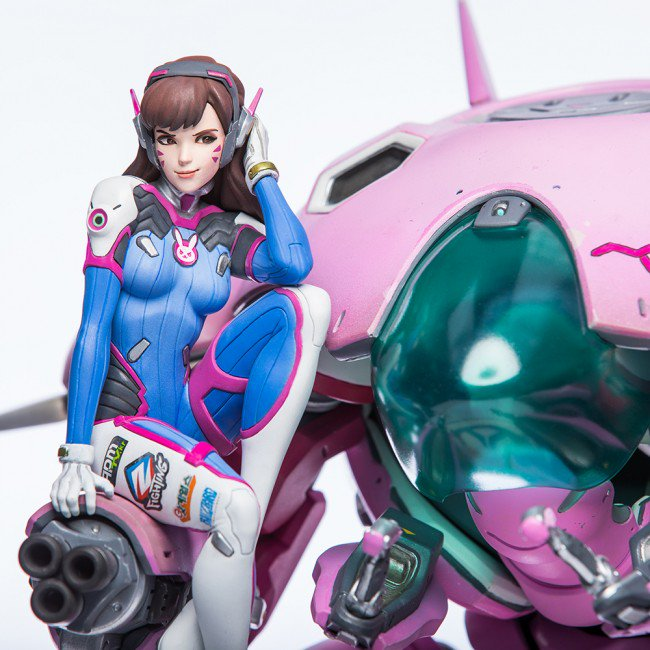 Overwatch D.Va Statue 48.26 cm (floor to head): Many Official Images, Full Eng Info, LINK