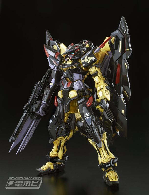P-Bandai RG 1/144 GUNDAM ASTRAY GOLD FRAME AMATSU MINA: New Official Images, Info Release