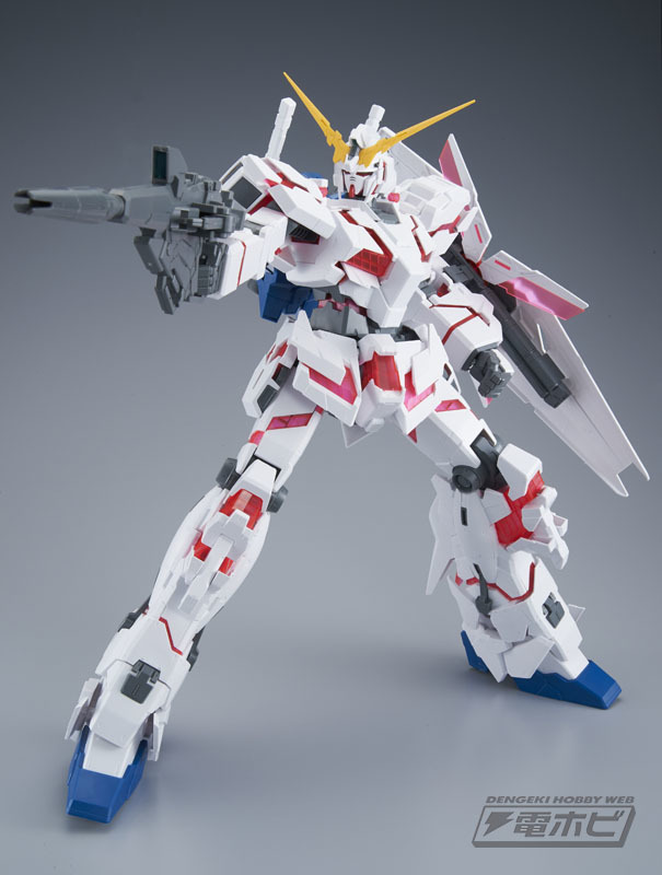 1/48 MEGA SIZE MODEL UNICORN GUNDAM DESTROY MODE: Sample Review, Info Release